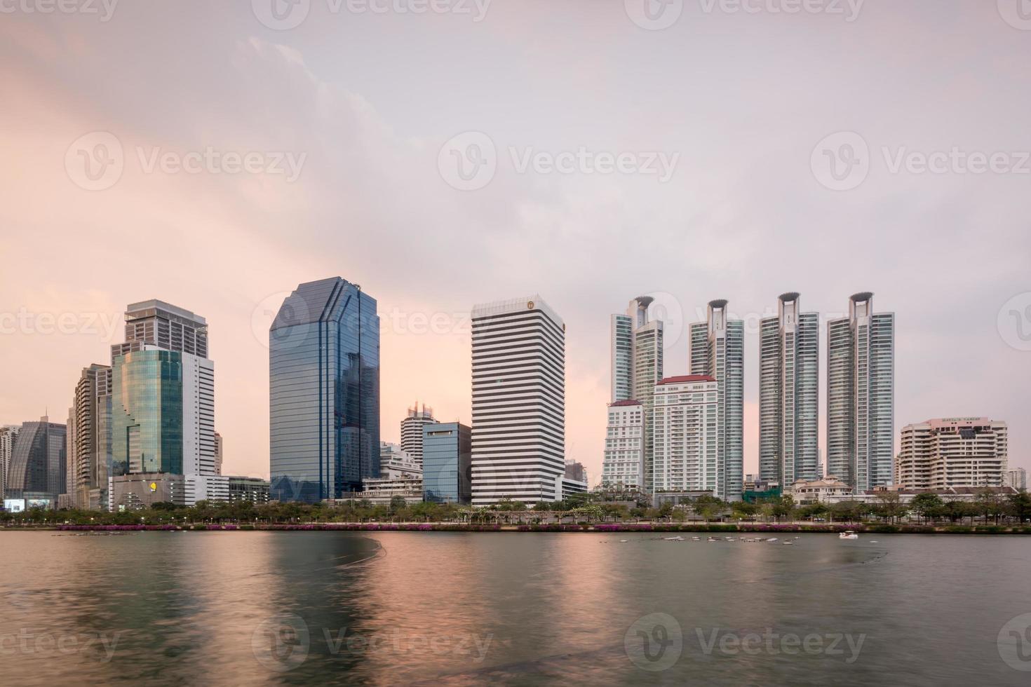 Bangkok skyscrapers photo