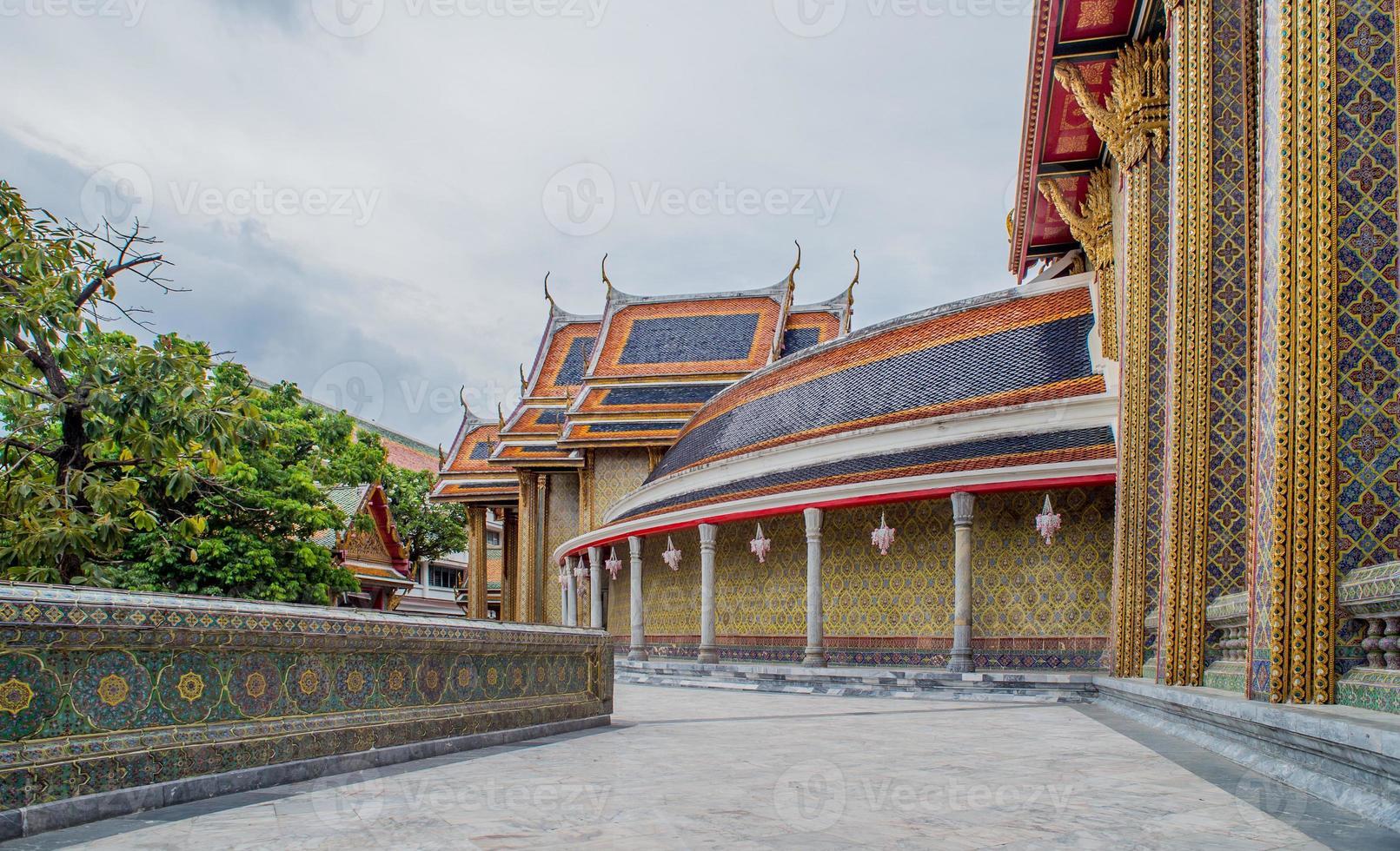 Wat Phra Kaew in Bangkok - Temple of Emerald Buddha photo