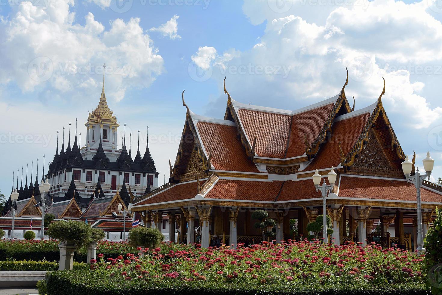 Thai temple,bangkok photo