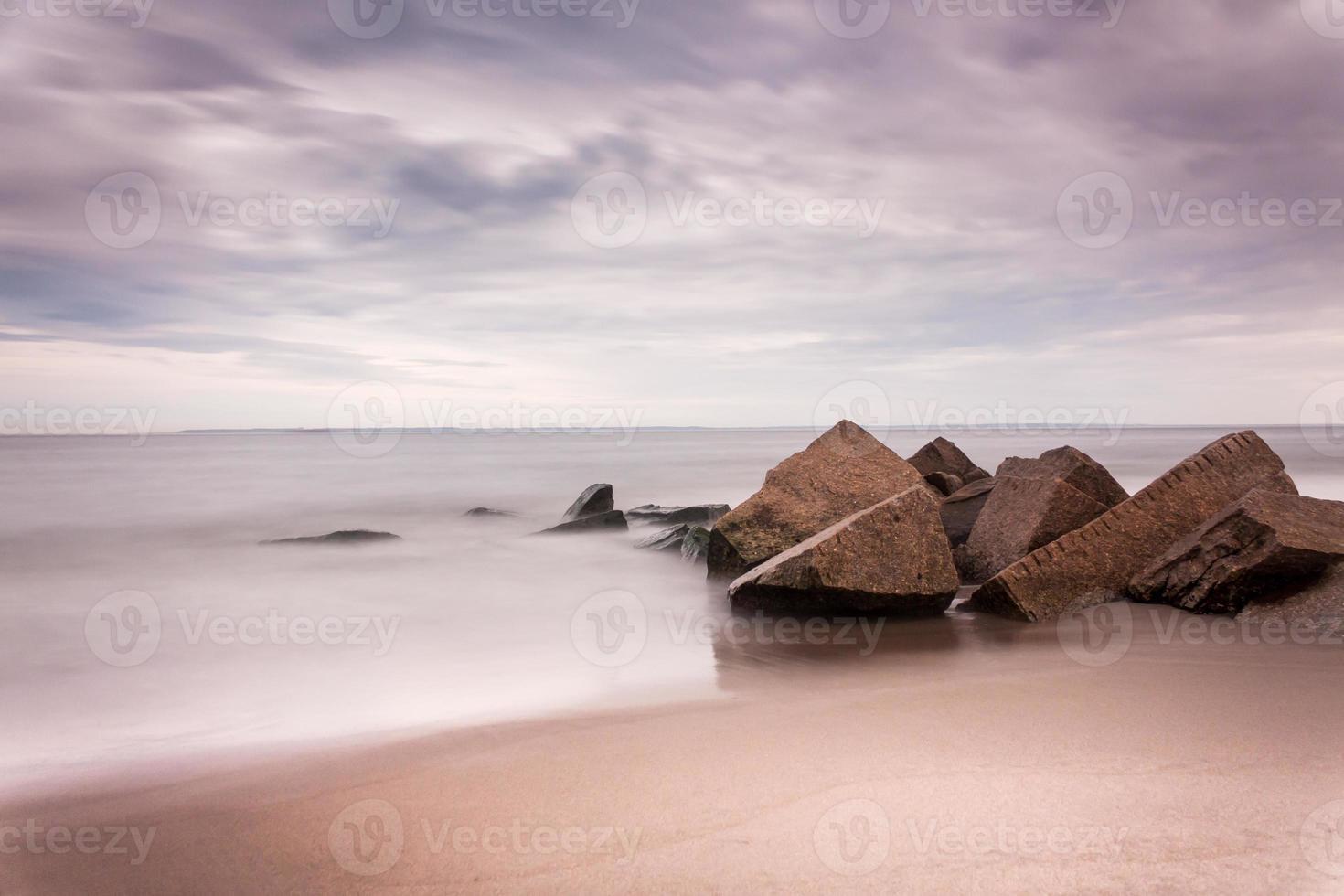 Playa de Coney Island foto