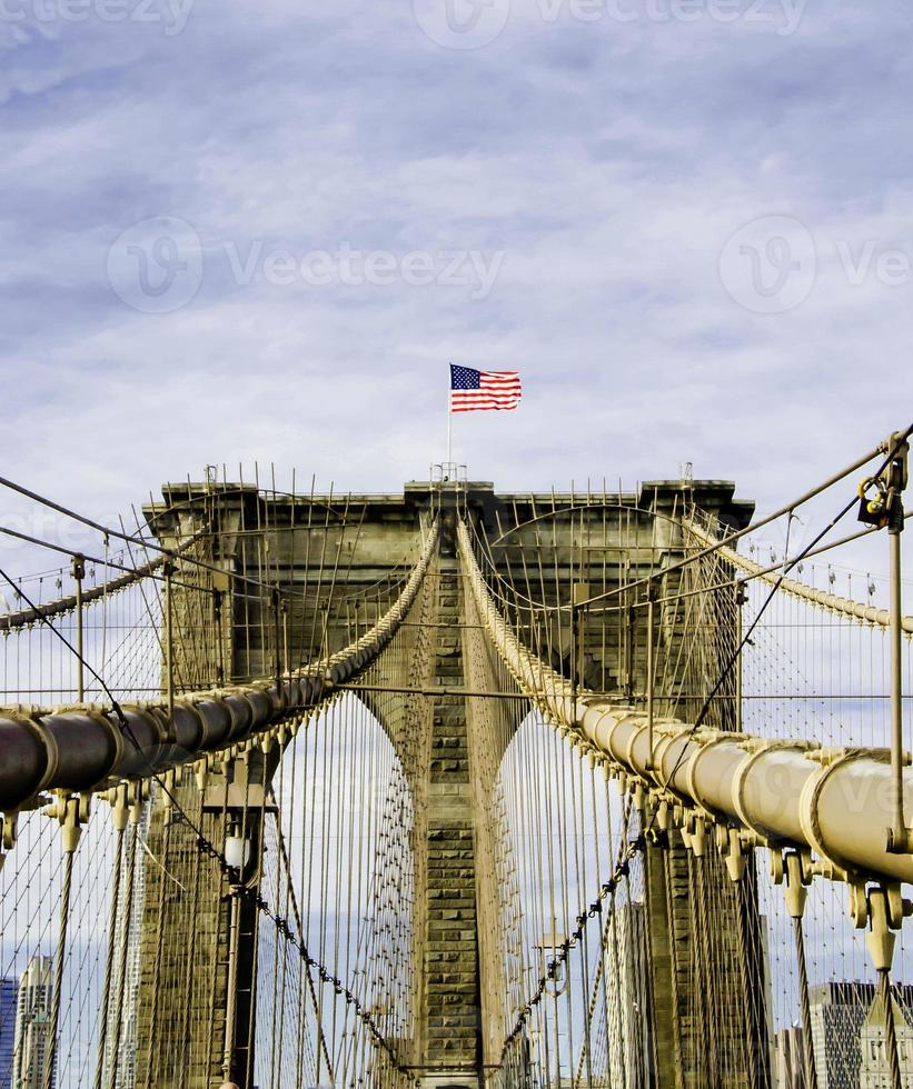 Brooklyn Bridge in New York City, USA photo