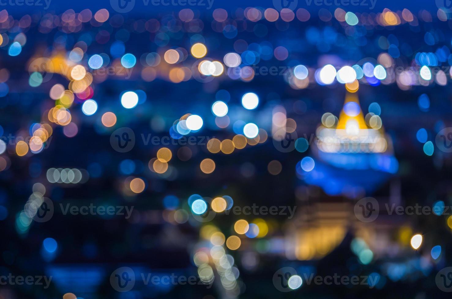 Golden Temple in Bangkok Thailand. photo