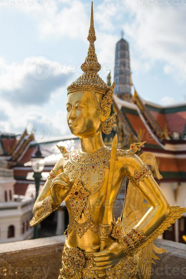Demon Guardian at Wat Phra Kaew photo