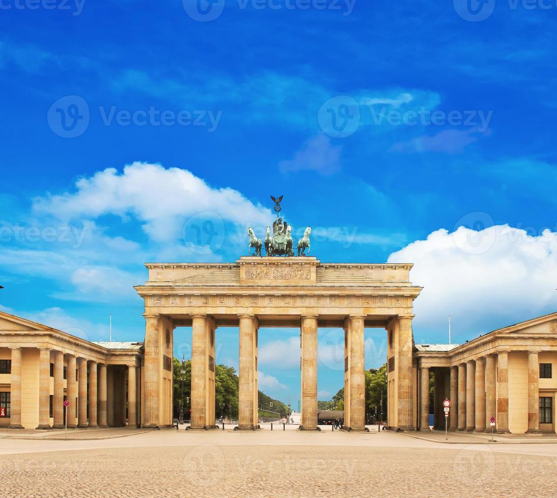 Puerta de Brandenburgo foto