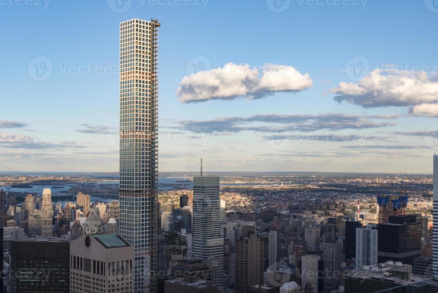 New York City Skyline Details in the Afternoon photo