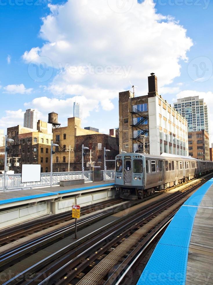 """The Chicago """"L"""" Train photo"""