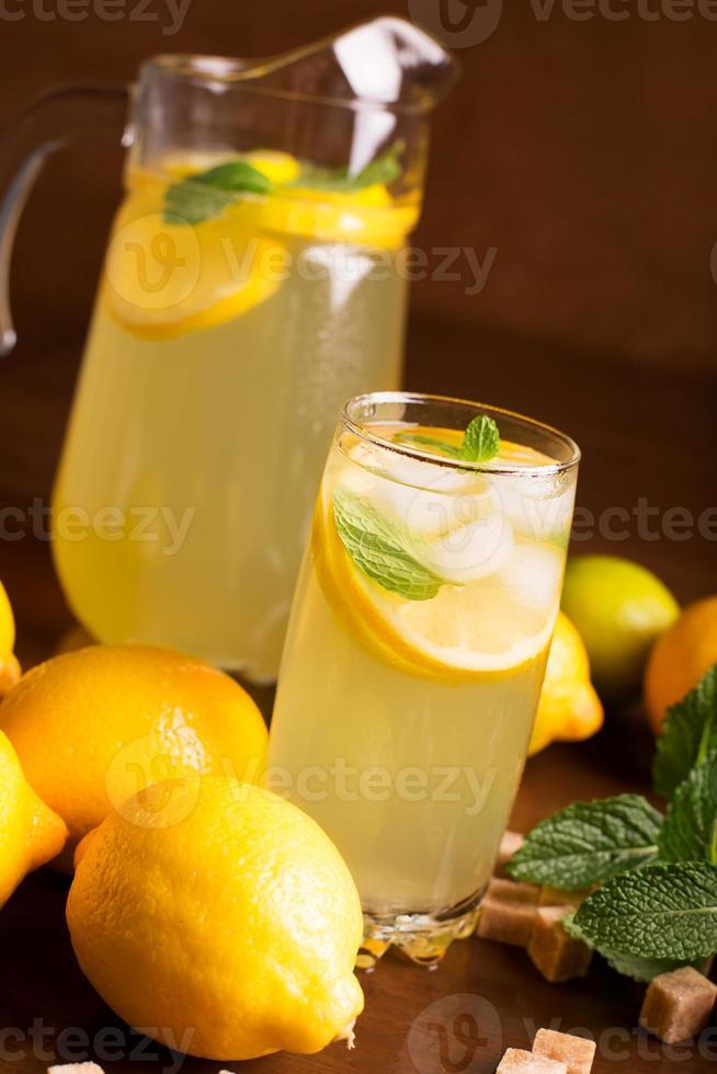 Fresh lemonade photo