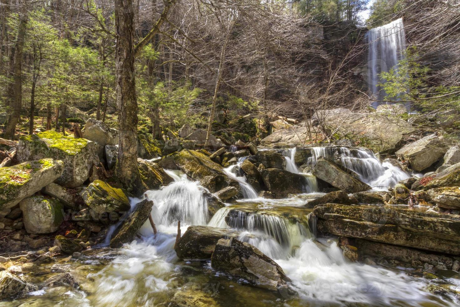 Spring at Stony Kill Falls photo