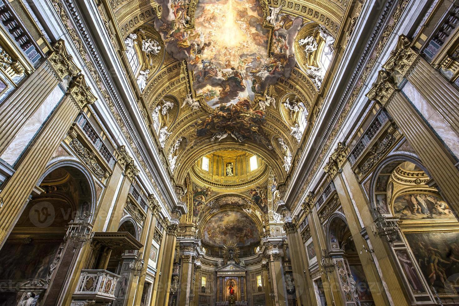 Church of the Gesu, Rome, Italy photo