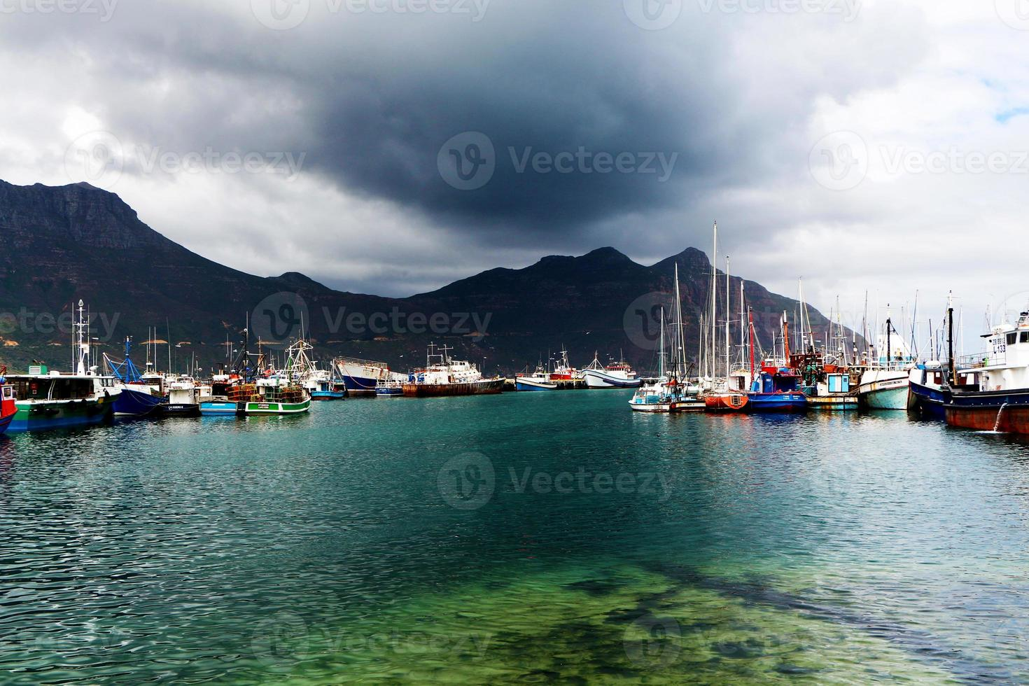 hout bay stormharbour foto