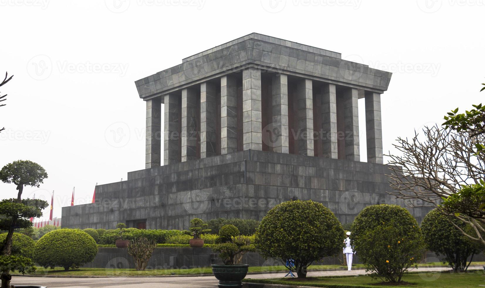 Mausoleum in Hanoi photo