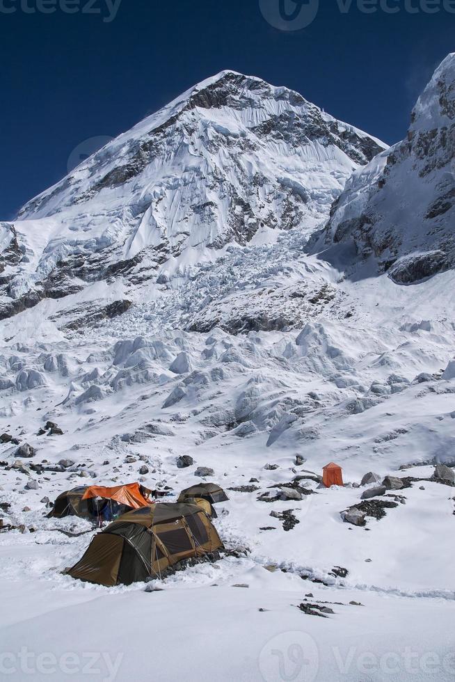 campamento base del everest foto