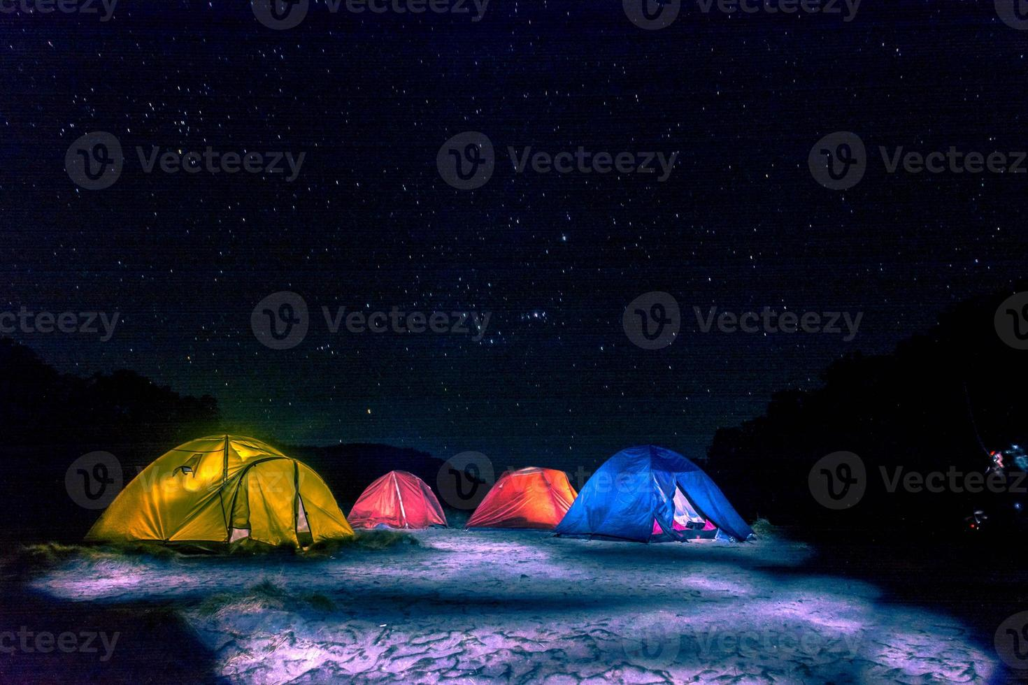 Astro Camps, right under the stars. photo
