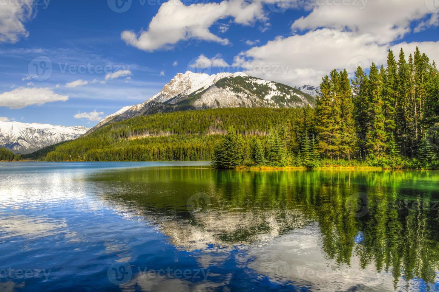 escénico lago dos jack foto