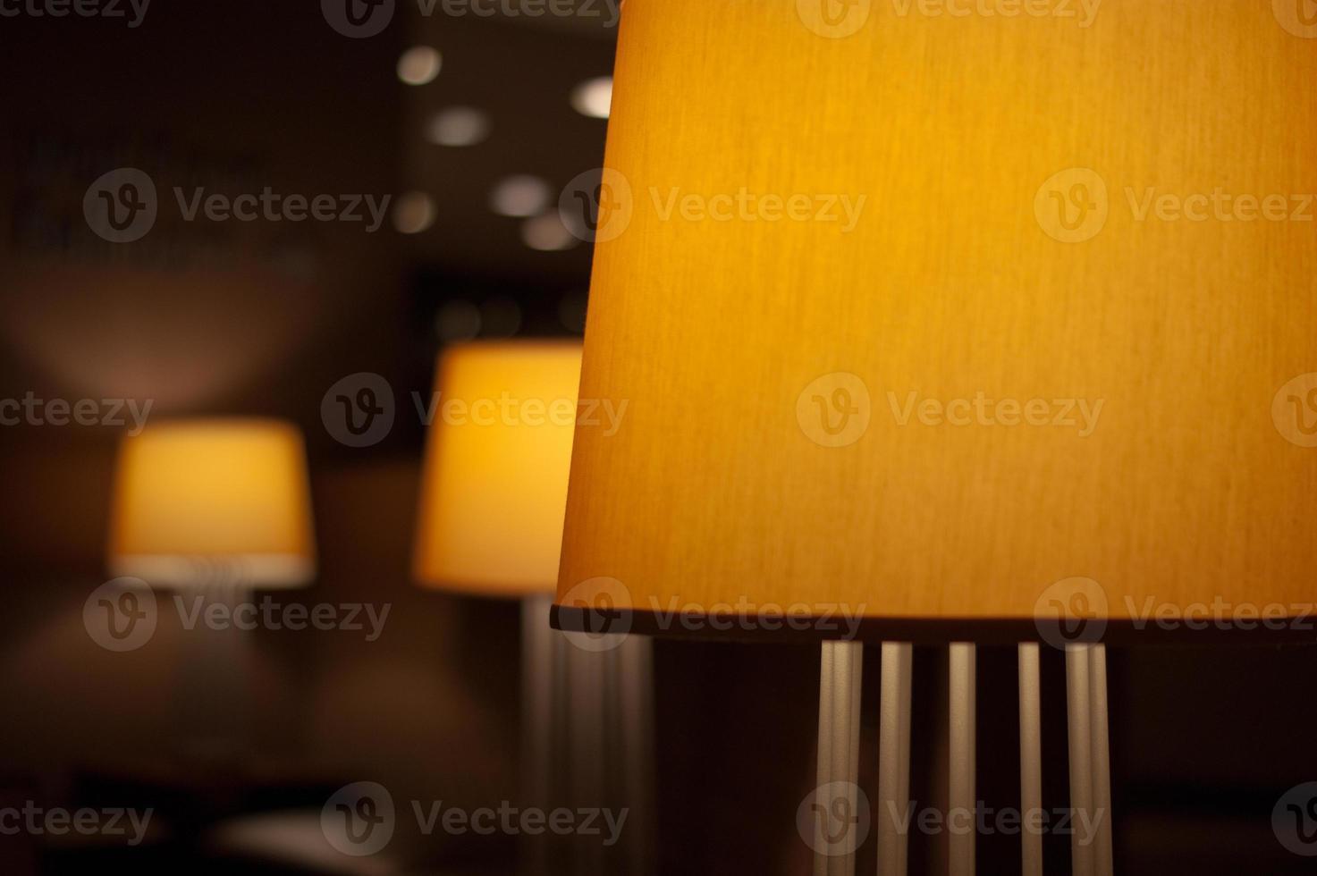 lámparas del vestíbulo foto