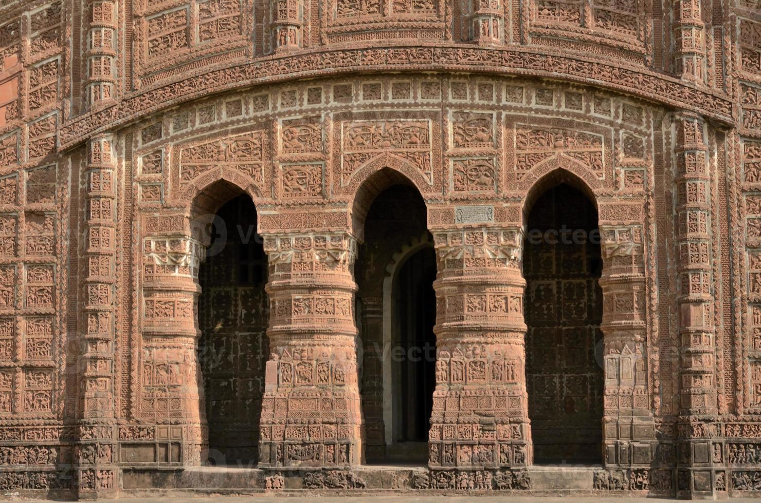Arches of temple photo