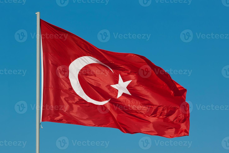 Turkish flags photo