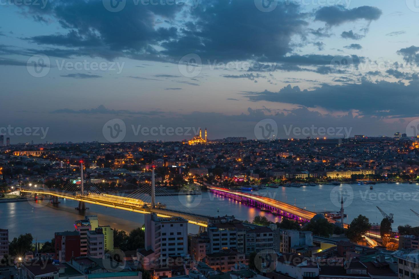 Istanbul at Night photo