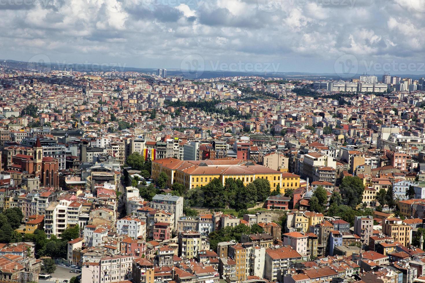 Aerial Istanbul photo