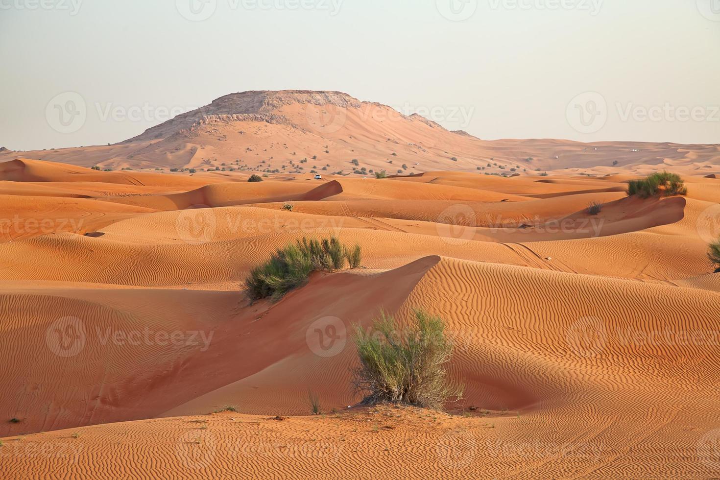 desierto de arena roja foto
