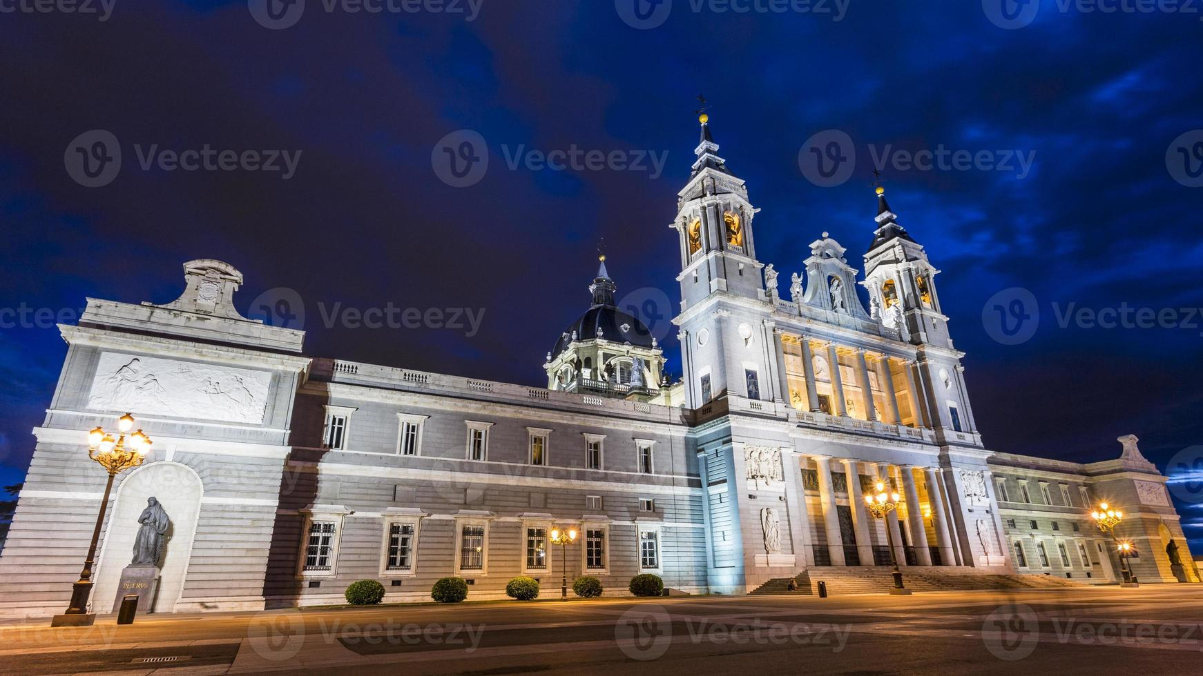 Cathedral in Madrid photo