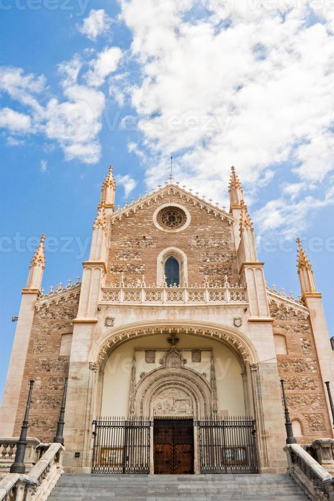 St. Jerome Royal Church in Madrid photo
