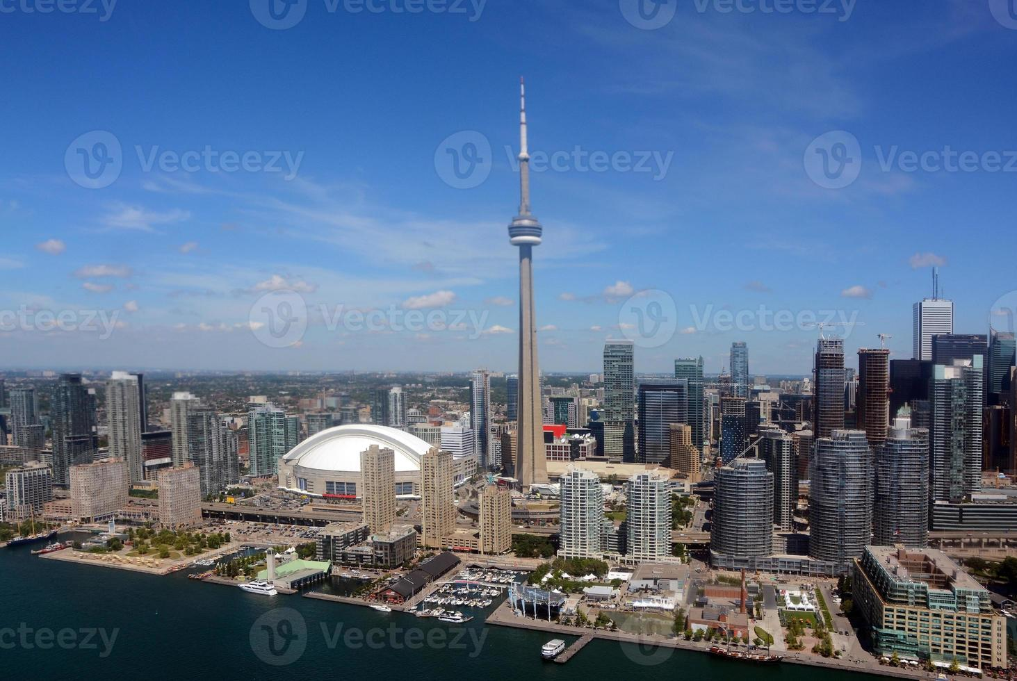 Toronto Downtown, Aerial view photo