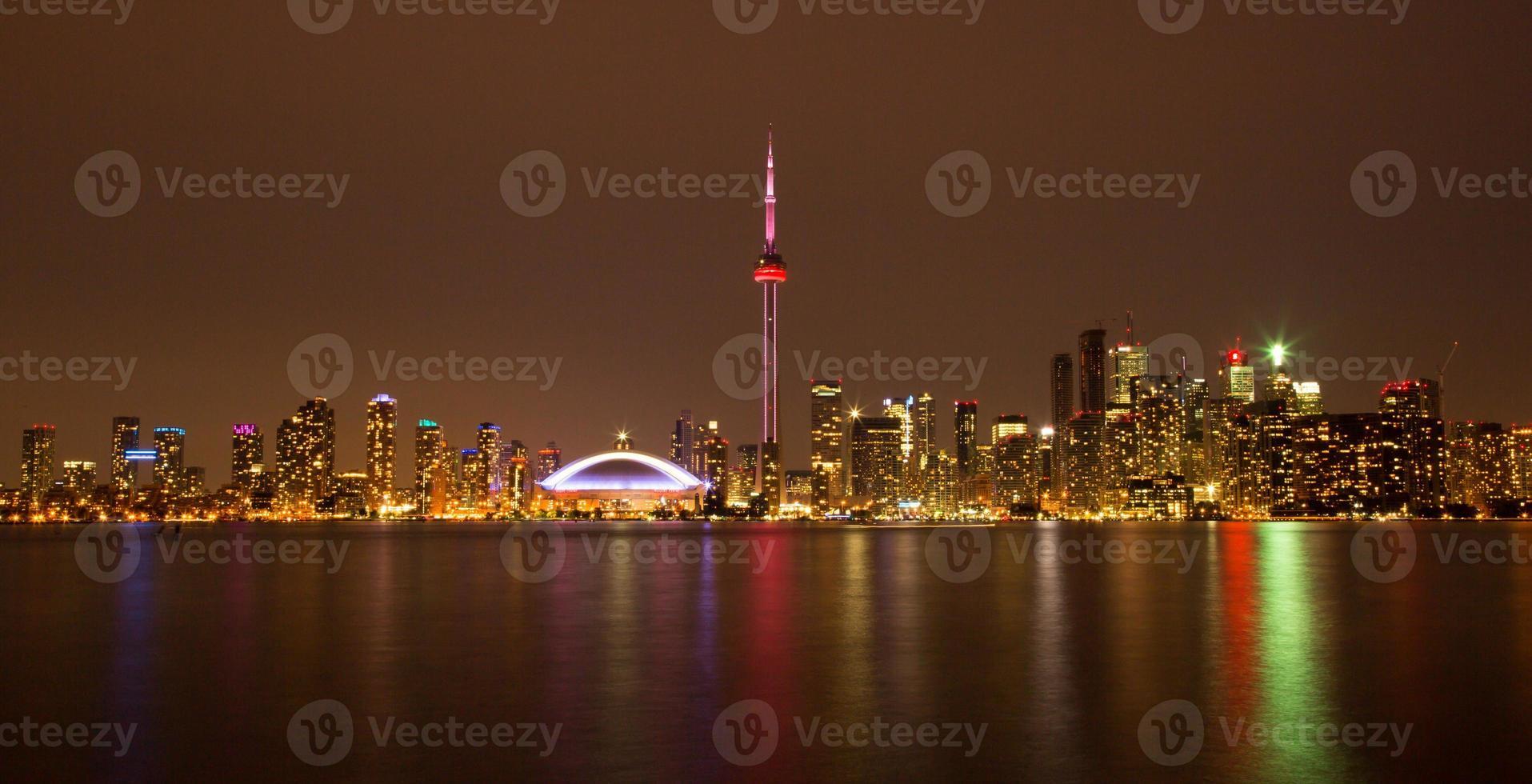 Toronto Night Skyline photo