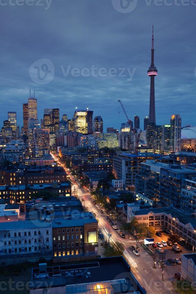 Toronto lights photo
