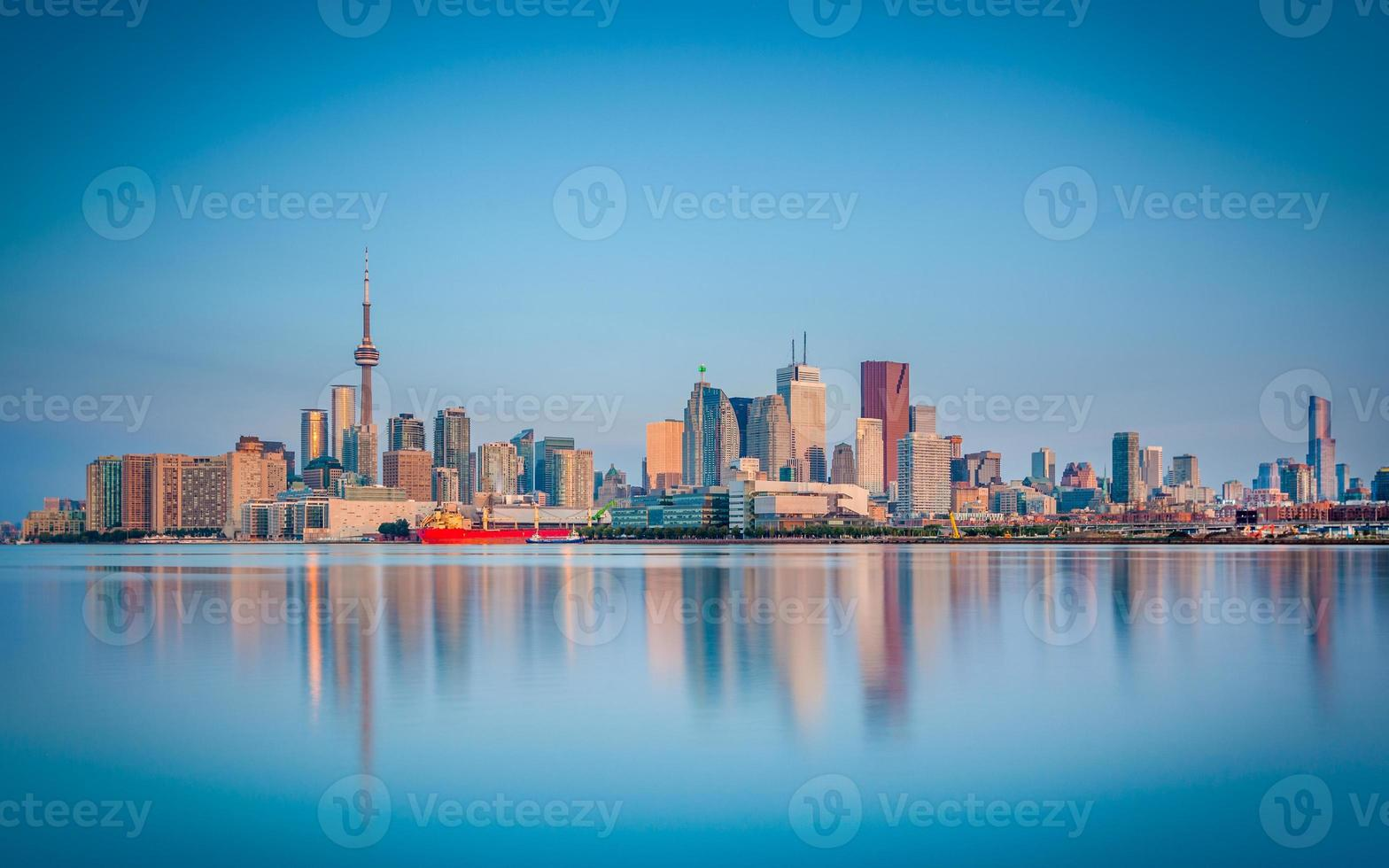 Skyline of Toronto, Canada photo