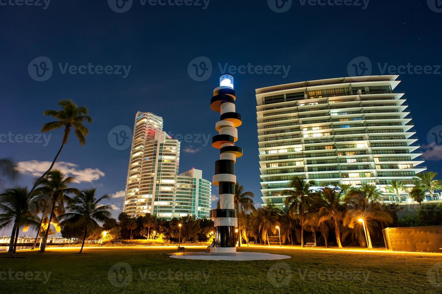 Night shots at Miami Beach photo
