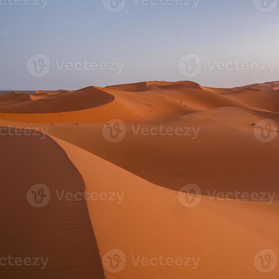erg chebbi en marruecos foto