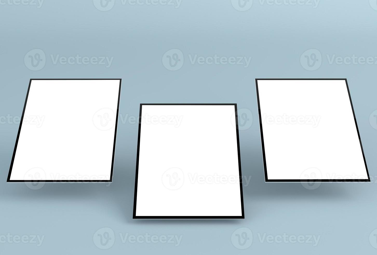 maqueta web receptiva / maqueta de aplicación receptiva foto
