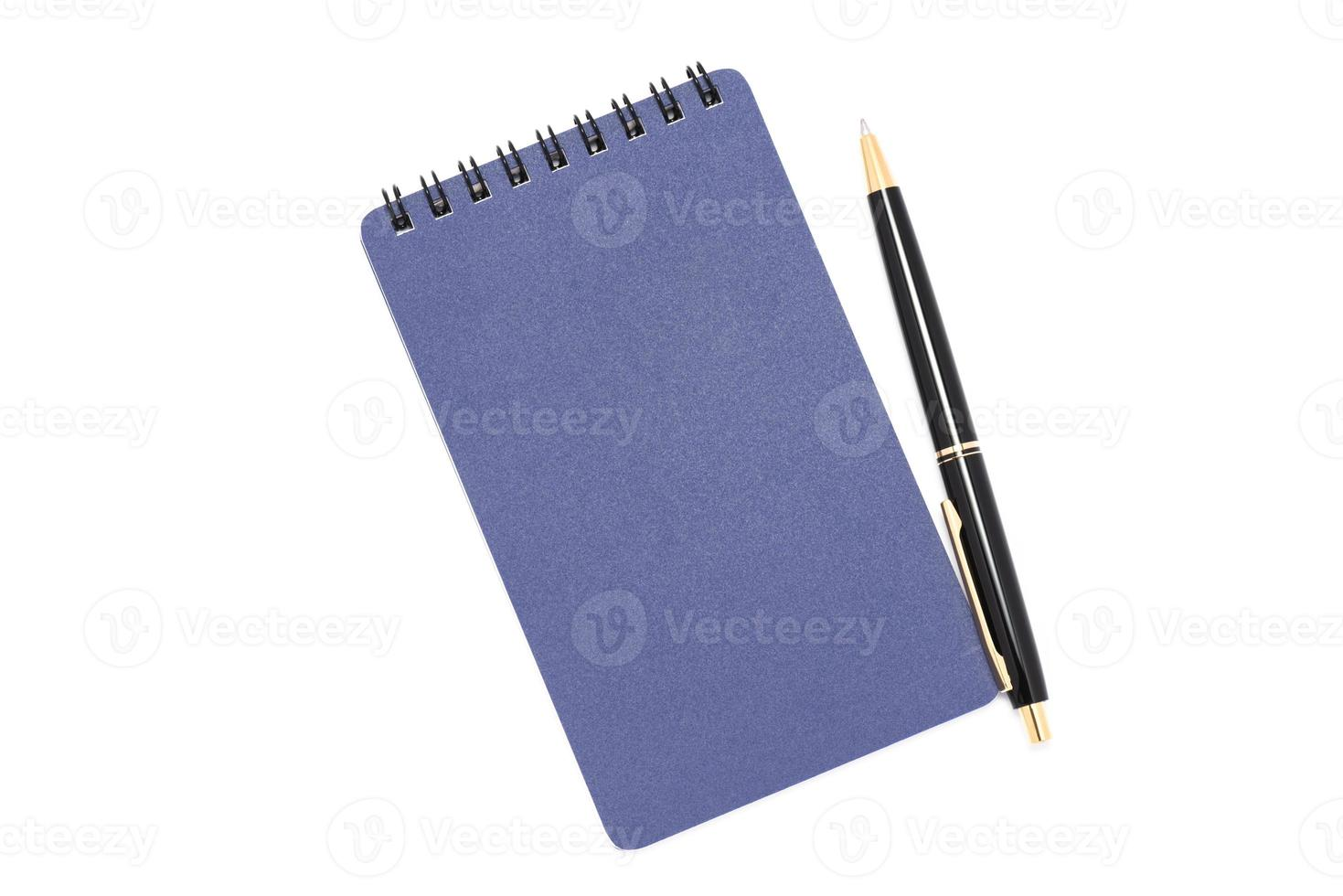 Spiral notebook. photo