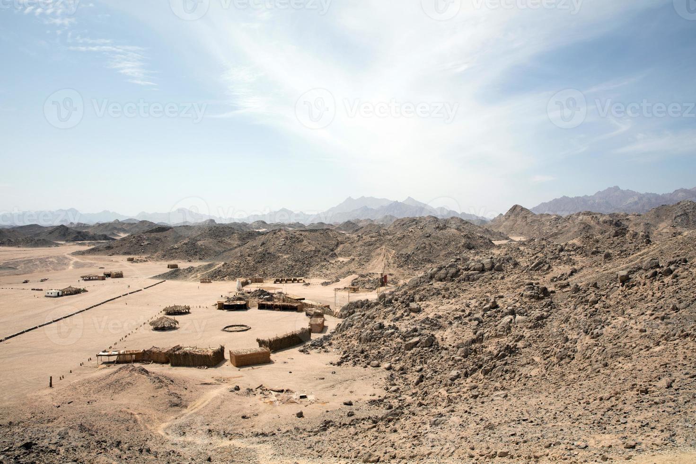 Desert nature in egypt travel photo