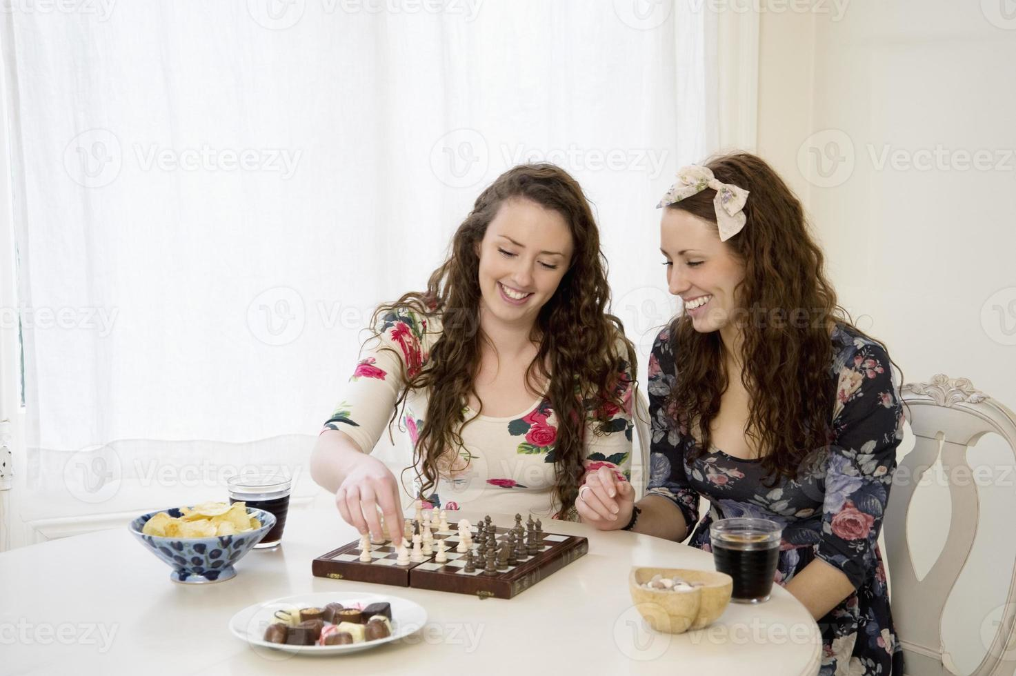 Happy friends together photo