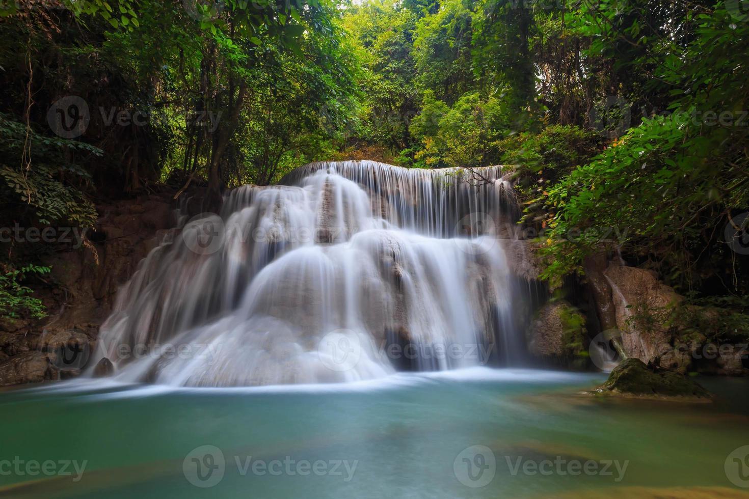 waterfall huay mae khamin photo