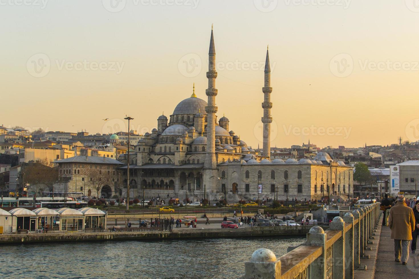 New Mosque in Istanbul (Turkey) photo