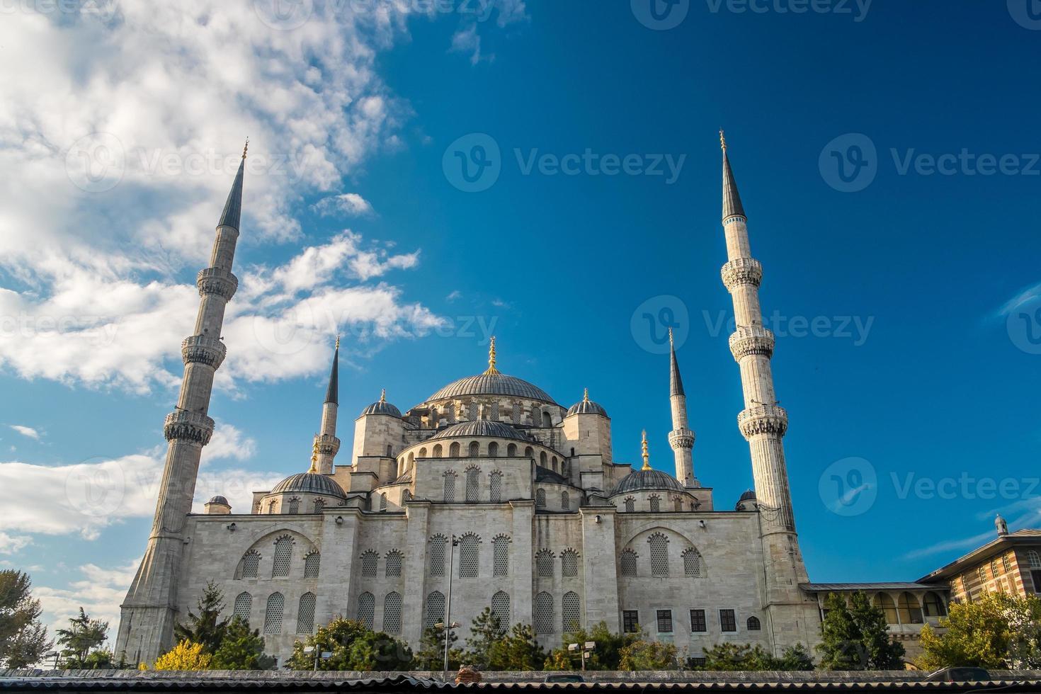 istanbul blauwe moskee foto