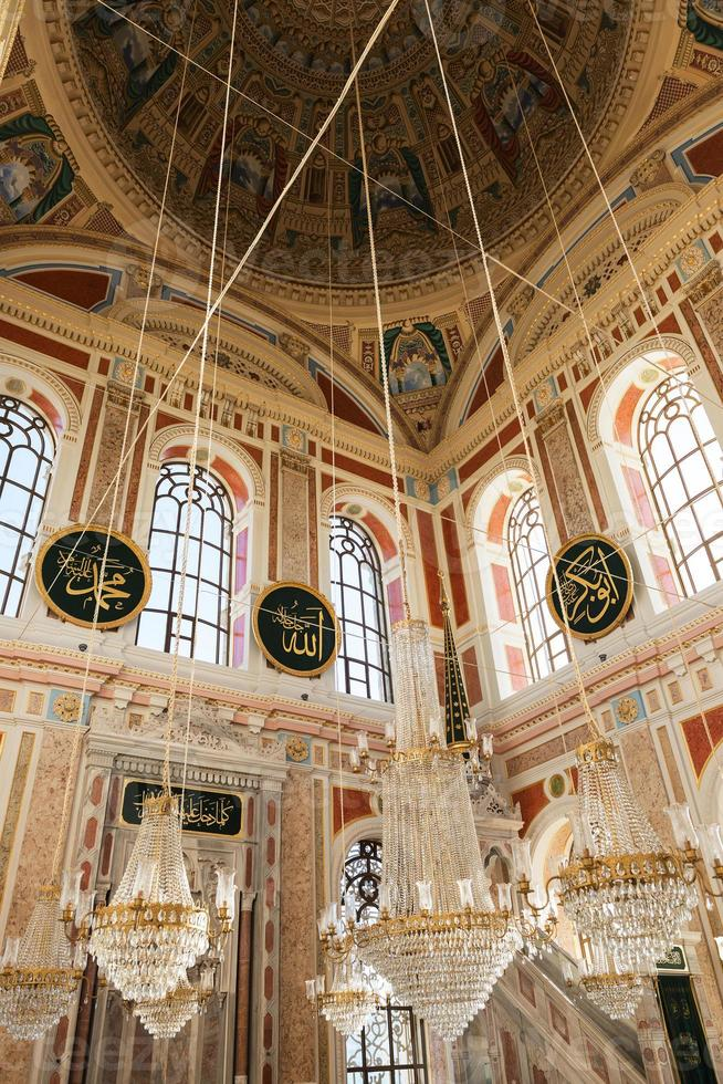 Ortakoy mosque in istanbul photo