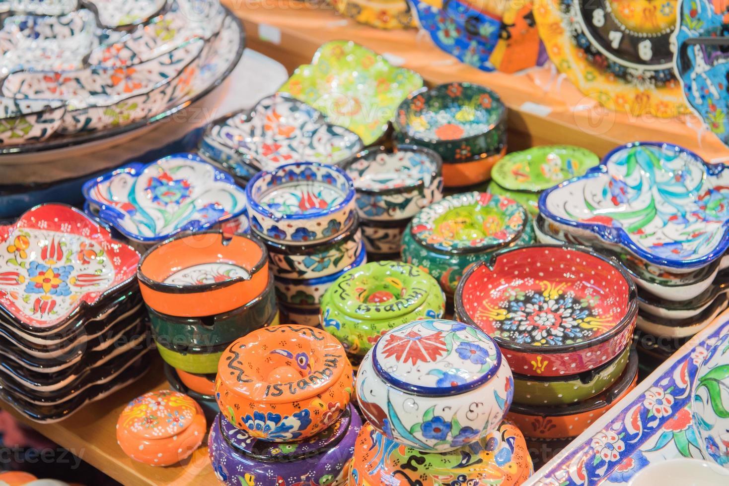 Turkish ceramics photo
