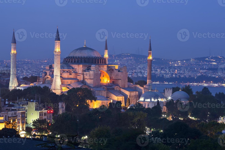 mezquita azul y hagia sophia foto
