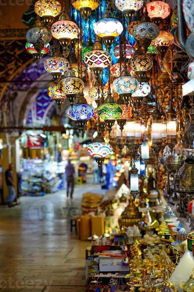 lámparas turcas foto