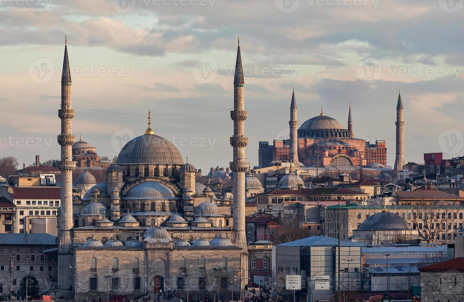 nuova moschea e hagia sophia foto