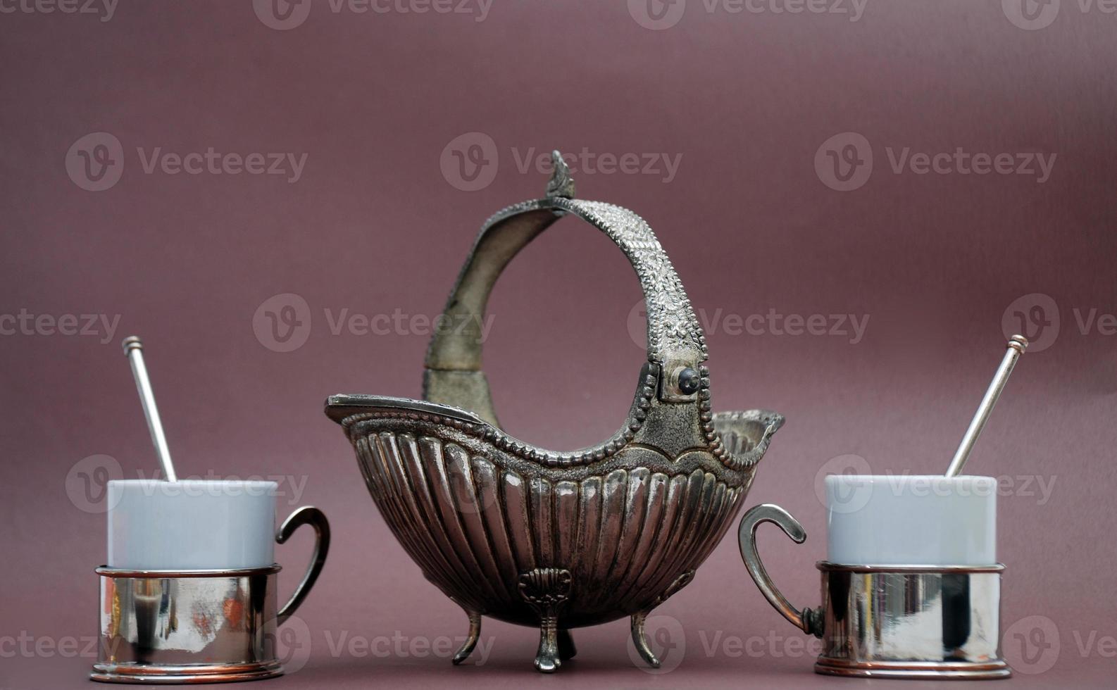 turkish coffee set photo