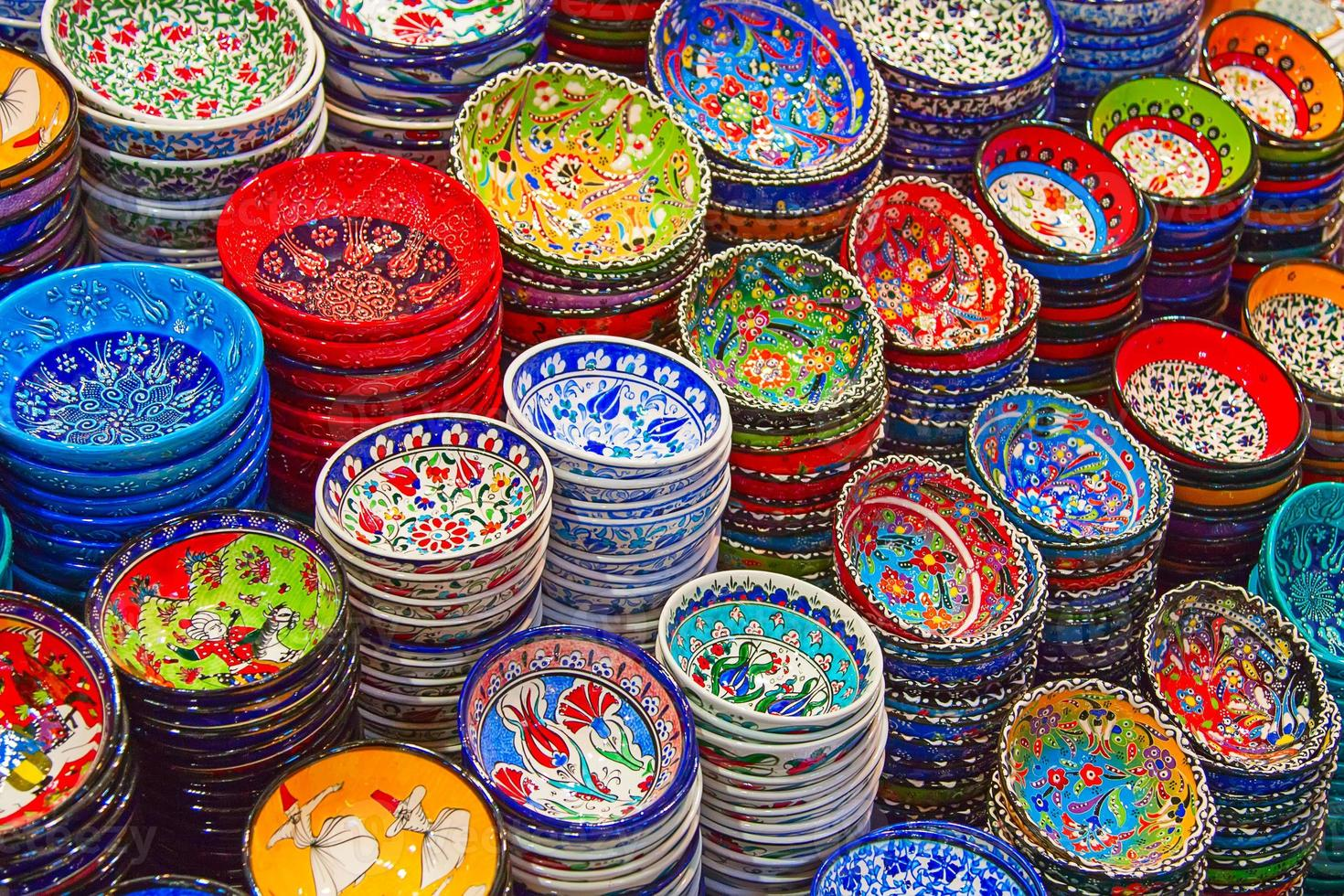 Turkse keramiek foto