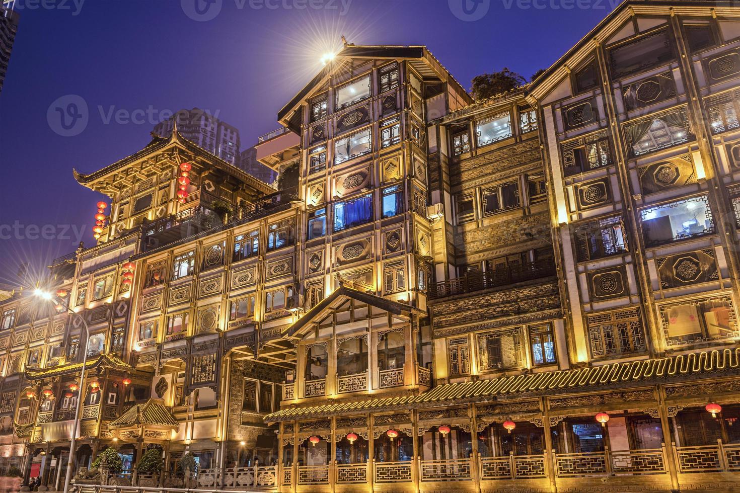Chongqing at Hongyadong photo