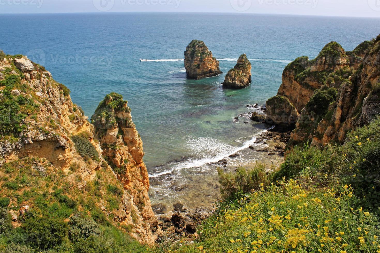 Algarve cliffs photo