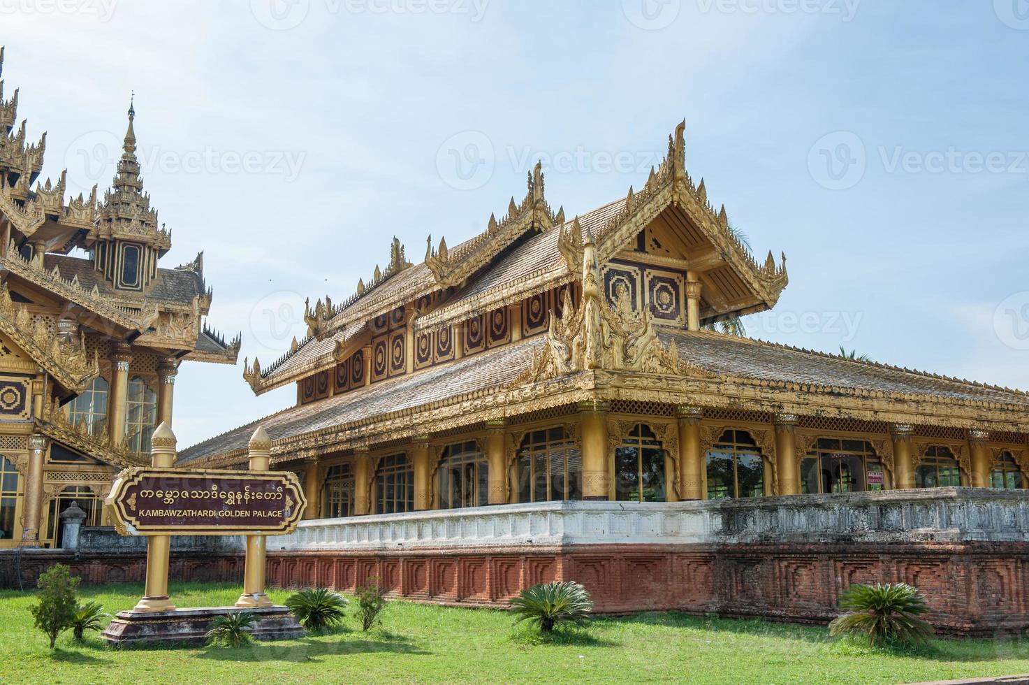 myanmar paleis foto