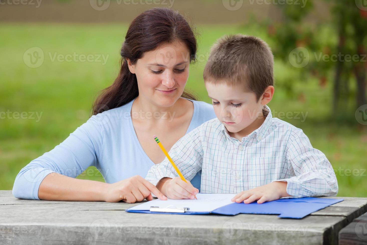 educación familiar foto